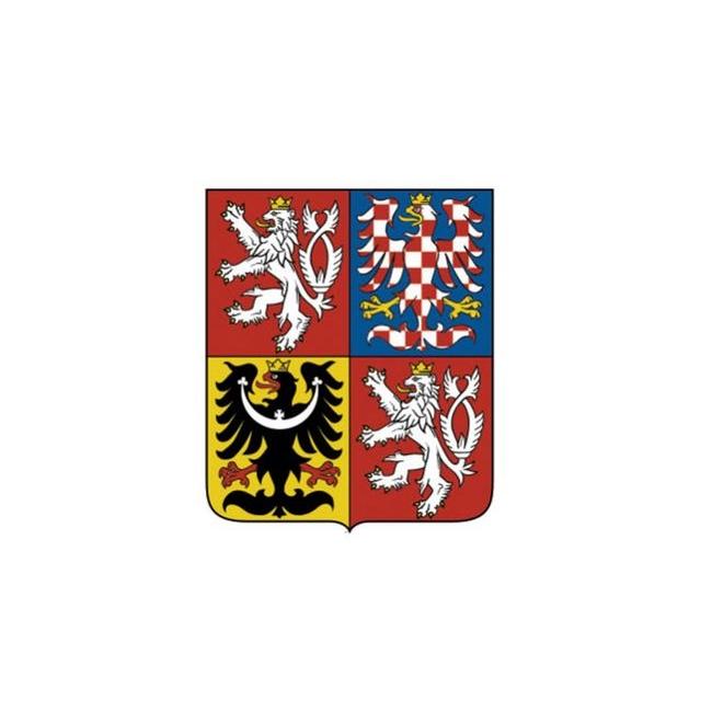 nálepka znak ČR