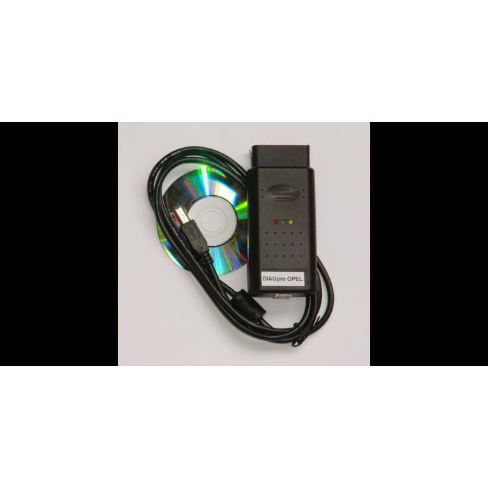 Autodiagnostika ELM327 OBD II - USB - Multiprotocol