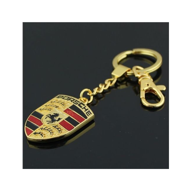 Přívěsek Porsche zlatý
