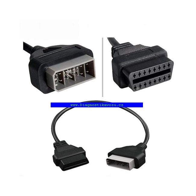 redukce HONDA 3PIN na OBD 2 adaptér přechodka