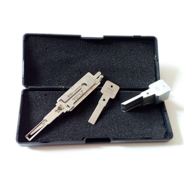Přívěsek na klíče - BMW kovový KCBM