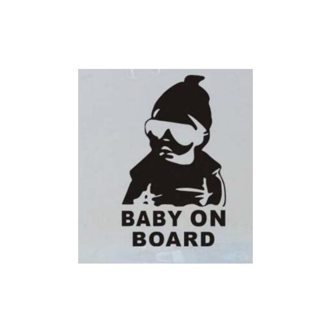 nálepka dítě v autě baby on...
