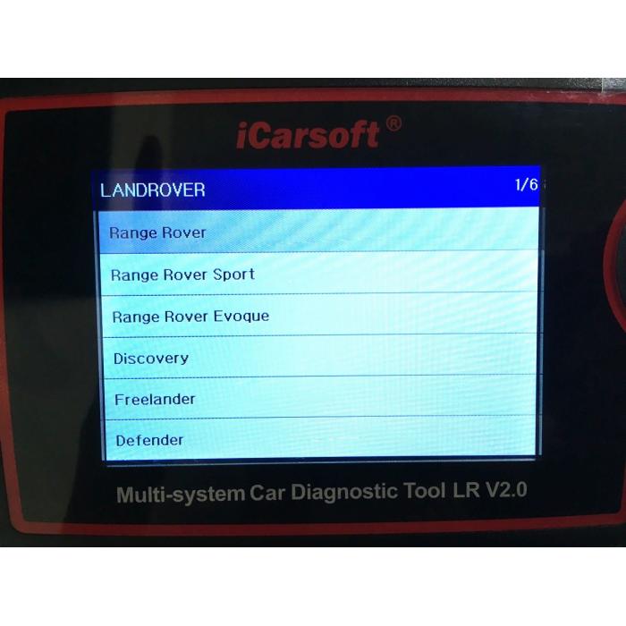 diagnostika Land Rover LR II