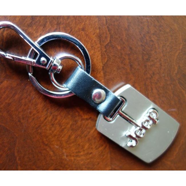 Přívěsek na klíče JEEP hranatý