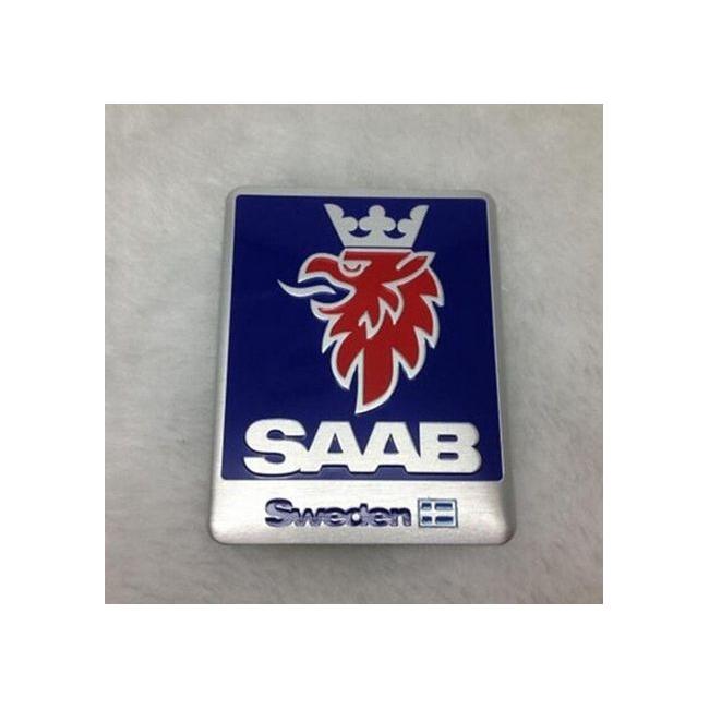 nálepka SAAB kovová štítek