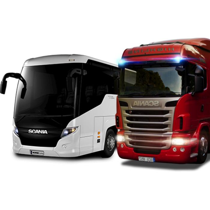 Nákladní vozidla (autobusy)